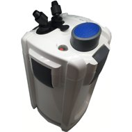 SunSun HW-704B Aquarium UV Sterilizer Canister Filter, 525 GPH