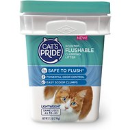 Cat's Pride Lightweight Scented Scoopable Clumping Cat Litter, 17.5-lb pail