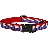 Sassy Dog Wear American Flag Dog Collar, Medium