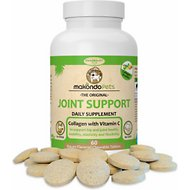 Makondo Pets Joint Support Dog & Cat Supplement, 60 count