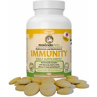 Makondo Pets Immunity Dog & Cat Supplement, 60 count