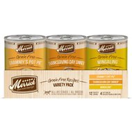 Merrick Classic Recipes Grain-Free Variety Pack Canned Dog Food, 13.2-oz, case of 12