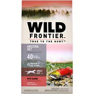 Nutro Wild Frontier Adult Cold Water Recipe Salmon Flavor High-Protein Grain-Free Dry Cat Food, 2-lb bag