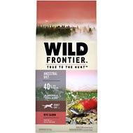 Nutro Wild Frontier Adult Cold Water Recipe Salmon Flavor High-Protein Grain-Free Dry Cat Food, 5-lb bag