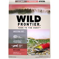 Nutro Wild Frontier Adult Cold Water Recipe Salmon Flavor High-Protein Grain-Free Dry Cat Food, 11-lb bag