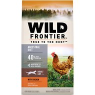 Wild Frontier Adult Open Valley Recipe Chicken Flavor High-Protein Grain-Free Dry Cat Food, 2-lb bag