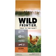 Nutro Wild Frontier Adult Open Valley Recipe Chicken Flavor High-Protein Grain-Free Dry Cat Food, 5-lb bag