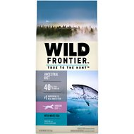 Nutro Wild Frontier Indoor Adult Deep Ocean Recipe Whitefish Flavor High-Protein Grain-Free Dry Cat Food, 5-lb bag