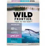 Nutro Wild Frontier Indoor Adult Deep Ocean Recipe Whitefish Flavor High-Protein Grain-Free Dry Cat Food, 11-lb bag