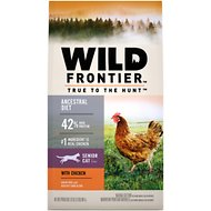 Nutro Wild Frontier Senior Open Valley Recipe Chicken Flavor High-Protein Grain-Free Dry Cat Food, 2-lb bag