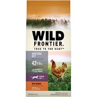 Nutro Wild Frontier Senior Open Valley Recipe Chicken Flavor High-Protein Grain-Free Dry Cat Food, 5-lb bag