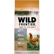 Nutro Wild Frontier Kitten Open Valley Recipe Chicken Flavor High-Protein Grain-Free Dry Cat Food, 5-lb bag