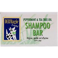 DERMagic Peppermint & Tea Tree Oil Dog Shampoo Bar, 3.75-oz