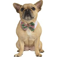 Rubie's Costume Company Poinsettia Dog Bow Tie, Medium/Large
