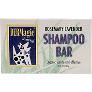 DERMagic Rosemary Lavender Dog Shampoo Bar, 3.75-oz