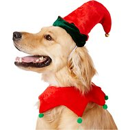 Rubie's Costume Company Elf Dog Hat with Bell, Medium/Large