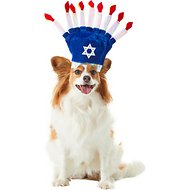 Rubie's Costume Company Menorah Dog Hat, Small/Medium