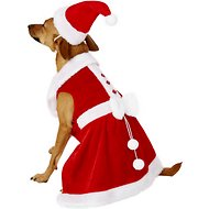 Rubie's Costume Company Mrs. Claus Dog Costume, Medium