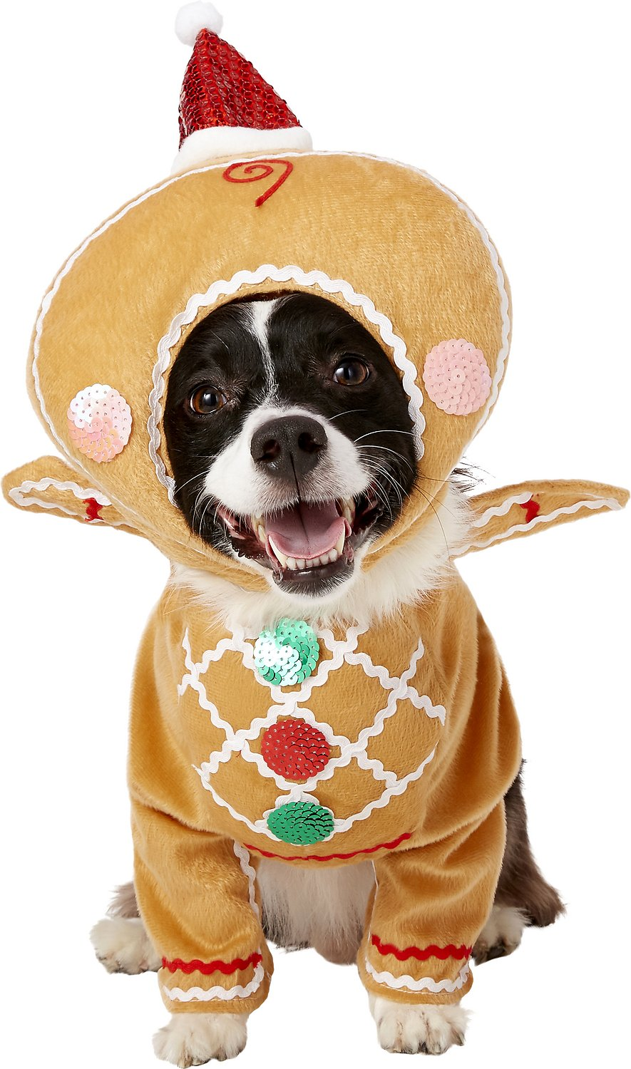 Rubie S Costume Company Gingerbread Dog Costume Large