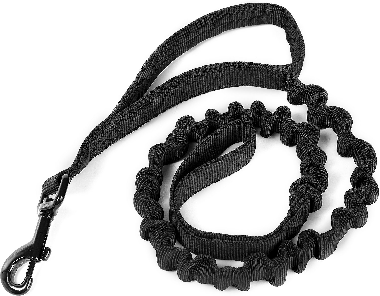 OneTigris Training Bungee Dog Leash, Black