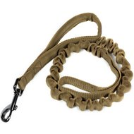 OneTigris Training Bungee Dog Leash, Tan
