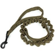 OneTigris Training Bungee Dog Leash, Ranger Green