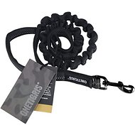 OneTigris Training Bungee Reflective Dog Leash, Black