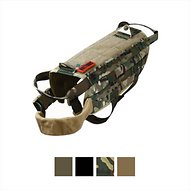 OneTigris Tactical Training Molle Vest Dog Harness, Camo, Large