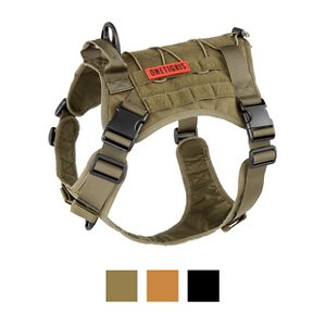 OneTigris Tactical Vest Nylon Front Clip Dog Harness