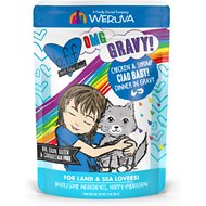 BFF Oh My Gravy! Ciao Baby! Chicken & Shrimp Dinner in Gravy Grain-Free Cat Food Pouches, 2.8-oz, pack of 12