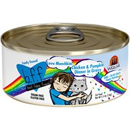 BFF Oh My Gravy! Love Munchkin! Chicken & Pumpkin Dinner in Gravy Grain-Free Canned Cat Food, 5.5-oz, case of 24