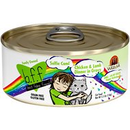 BFF Oh My Gravy! Selfie Cam! Chicken & Lamb Dinner in Gravy Grain-Free Canned Cat Food, 5.5-oz, case of 24