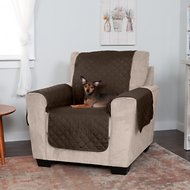 FurHaven Water-Resistant Reversible Chair Protector, Espresso/Clay