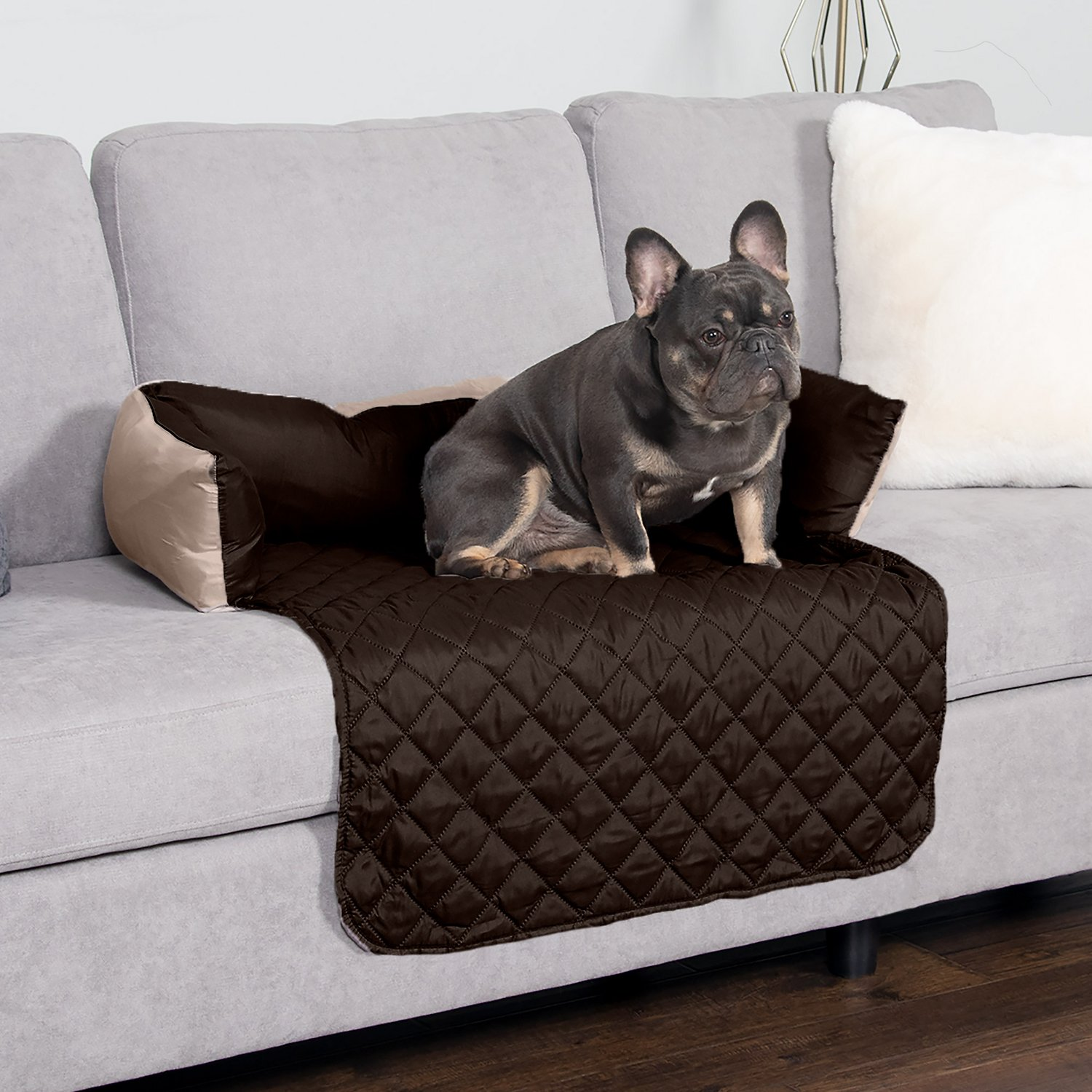 Furhaven Sofa Buddy Dog Amp Cat Bed Furniture Cover