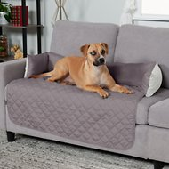 FurHaven Sofa Buddy Dog & Cat Bed Furniture Cover, Gray/Mist, Large