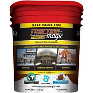 Traction Magic Ice Management Agent, 35-lb pail