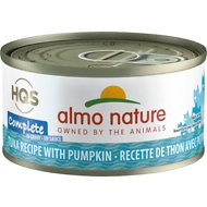 Almo Nature Complete Tuna Recipe with Pumpkin Grain-Free Canned Cat Food, 2.47-oz, case of 12