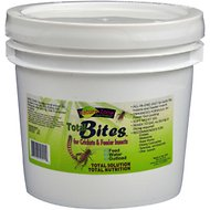 Nature Zone Total Bites Feeder Insect Food, 1-gal container
