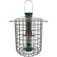 Droll Yankees Sunflower Domed Cage Wild Bird Feeder, 23-in