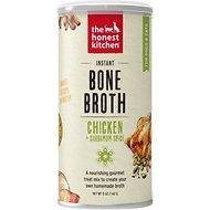 The Honest Kitchen Instant Chicken Bone Broth with Cardamom for Dogs & Cats, 5-oz jar