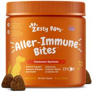 Zesty Paws Allergy Digestive & Immune Support Lamb Flavor Soft Chew Dog Supplement, 90 count