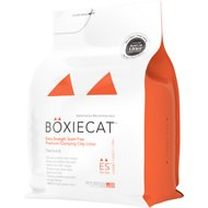 Boxiecat Extra Strength Scent Free Premium Clumping Clay Cat Litter, 28-lb bag