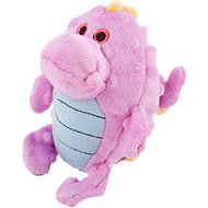 GoDog Dragons Grunters Chew Guard Dog Toy, Violet, Small