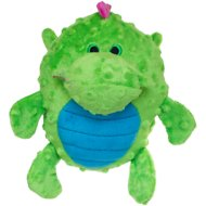 GoDog Dragons Grunters Chew Guard Dog Toy, Green, Small