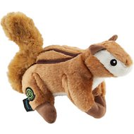 GoDog Wildlife Chew Guard Chipmunk Dog Toy, Large
