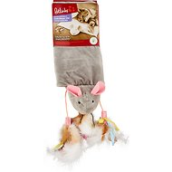 Petlinks Cutie Mouse Catnip Crinkle Mat Cat Toy, Color Varies