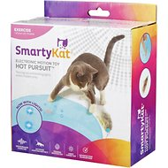 SmartyKat Hot Pursuit Electronic Concealed Motion Cat Toy, Blue