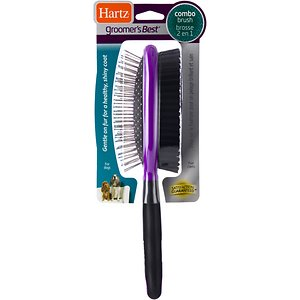 Hartz Groomer's Best Combo Dog Brush