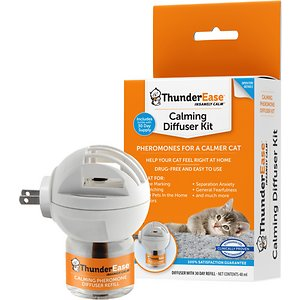 ThunderEase Calming Diffuser for Cats, 30 day