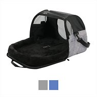 Gen7Pets Carry-Me Sleeper Pet Carrier, Heather Gray